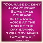 "Reframing Courage©  (adapted from Unmask: Let Go of Who You're ""Supposed"" to Be & Unleash Your True Leader)"