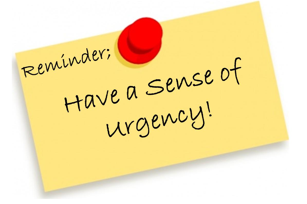 the power of urgency jeff nischwitz