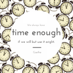 Don't Wait for Time – Claim It!