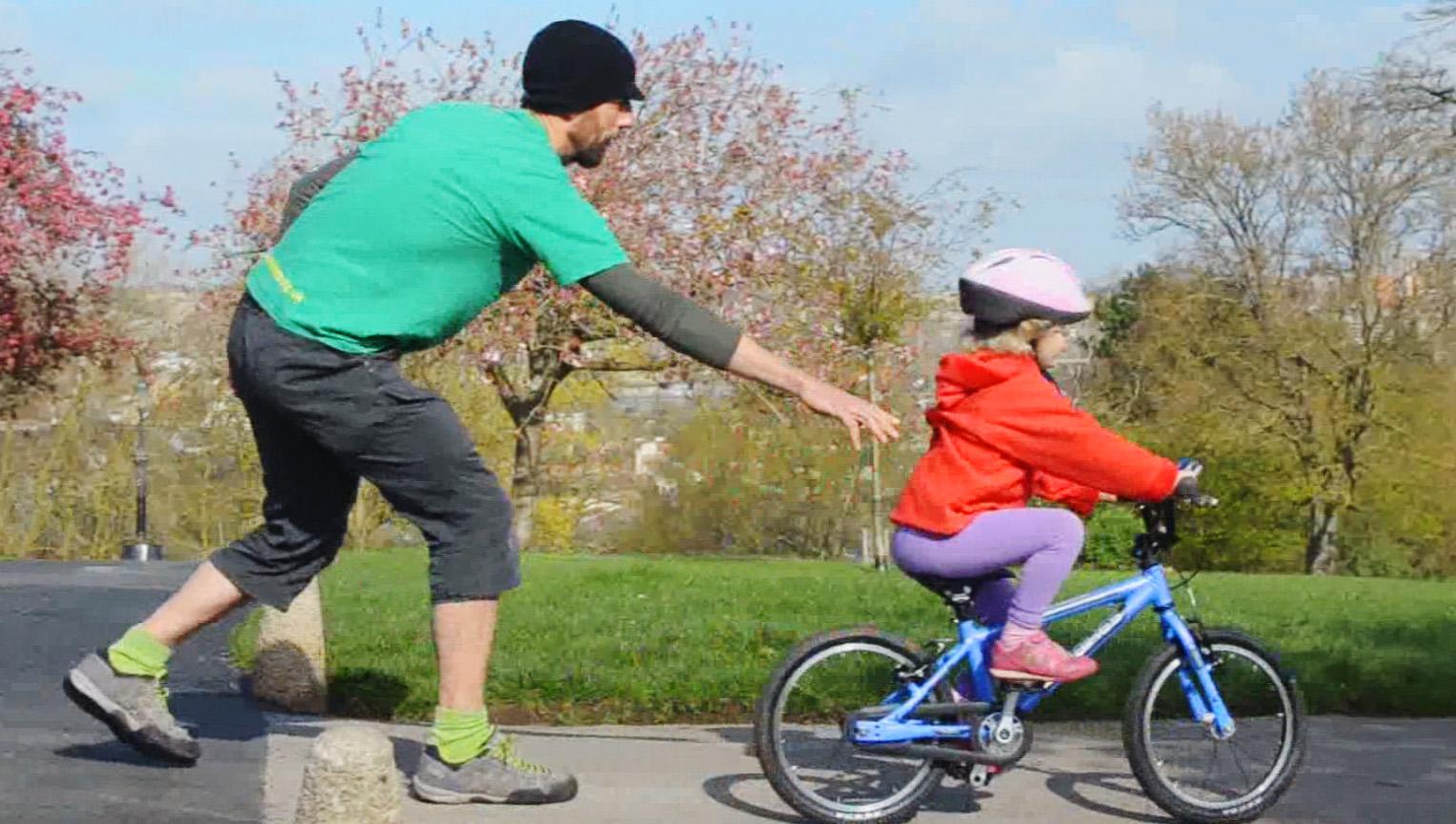 Letting Go Of The Bike Jeff Nischwitz
