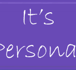 Don't Take It Personally